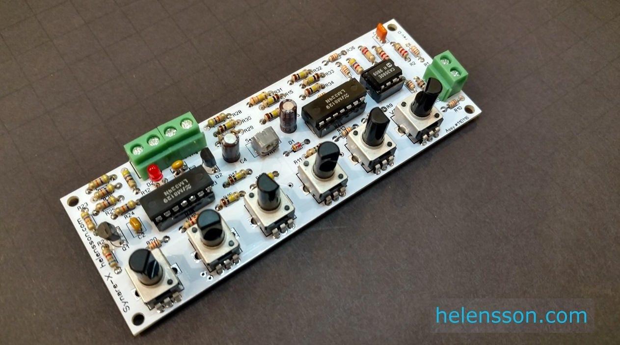 synare x sensor ds 7 synth clone kit diy drum synthesizer. Black Bedroom Furniture Sets. Home Design Ideas