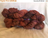 MothersDay Mr Todd's Coat- Au Natural -hand dyed yarn