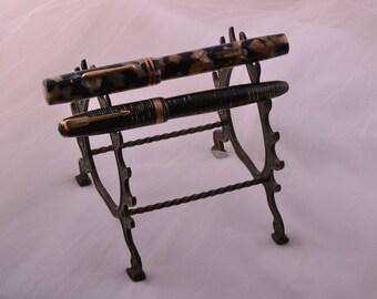 Metal Victorian Pen Stand (3583)