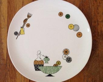 Crooksville Waldorf  Platter
