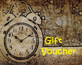 Gifts at the last minute? Don't worry - here is a Gift Voucher option just for You! Mother's Day, Birthday, Valentine, New Year, Christmas