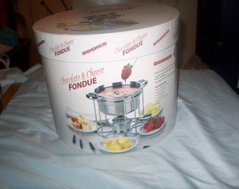 Fondue Set in Box, WAS 25.00 - 50% = 12.50