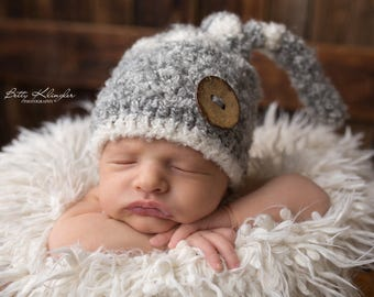 Hello everybody this beautiful boy crochet hat is new. you can order it in all sizes and in your favourite colour.