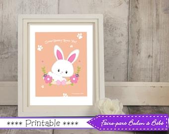 Easter wall art printable -  Art nursery - art Easter decor - Easter art - Printable Easter decor - Printable