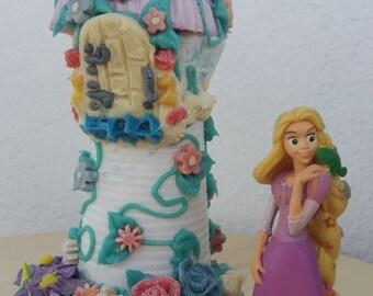 """Soap """"Rapunzel""""Decorative Soap, """"Rapunzel"""" centerpiece party decor, Cold process soap, Natural Handmade, handmade soap, table center piece"""
