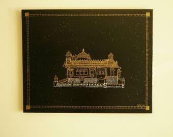 Golden Temple- Sri Harmandir Sahib 20x16 inch