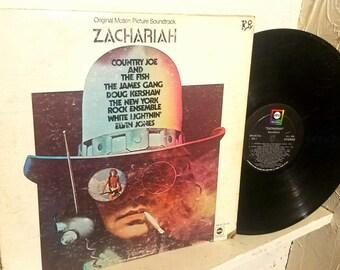 Zachariah Vinyl Record Soundtrack - Rare and Vintage