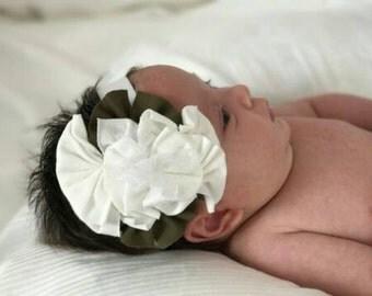 Soft Stretchy Girl Headband, Newborn Headband, Girl Hair Accessories, Girl Accessories