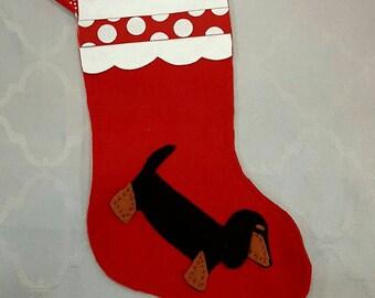 "Shop ""dachshund stocking"" in Home Décor"