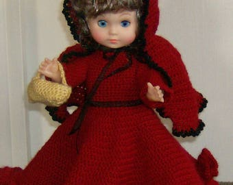 Fairy Tale Little Red Riding Hood Doll