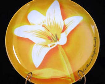 Givenchy Parfums Dessert Plates Daylily White Calla Yellow Calla Lily Les Fleurs