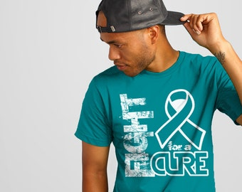 Dysautonomia, Myasthenia Gravis, Interstitial Cystitis, Ovarian Cancer, Cervical Cancer, Scleroderma, Teal Awareness Shirt