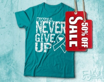 Scleroderma, Dysautonomia, Myasthenia Gravis, Interstitial Cystitis, Ovarian Cancer, Cervical Cancer, Teal Awareness Shirt