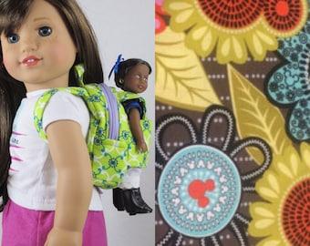 "Mini Doll Backpack in Vera Bradley Disney ""Perfect Petals"""