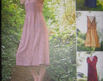 Misses' Dress   In two sizes, pattern, simplicity  8231