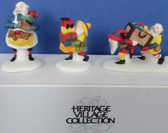Dept 56 Toymaker Elves Retired North Pole Accessories