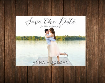 Two Sided Save the Date