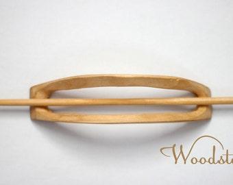 Handmade wooden barrette, boho wood hair accessories, hair clip, hair pin, hair fork, French clip, hair slide, hair holder