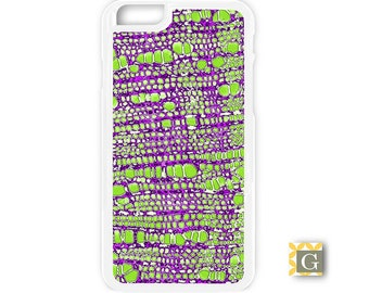 Galaxy S8 Case, S8 Plus Case, Galaxy S7 Case, Galaxy S7 Edge Case, Galaxy Note 5 Case, Galaxy S6 Case - Purple Green Leaf