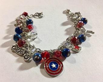 Stucky Inspired Loaded Bracelet