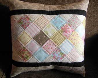 Cottage Pillow Cover Only/Pillow not included/16x16