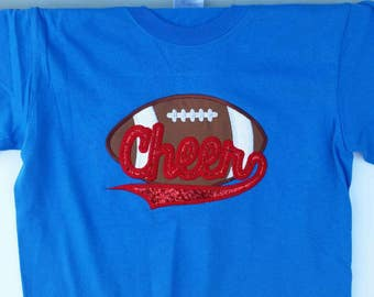 Girls Cheer Shirt - Custom Cheer Shirts - Cheer Practice Wear - Cheerleader Shirt - Cheer Camp - Cute Cheer Shirts - Cheer Gift - Embroidery
