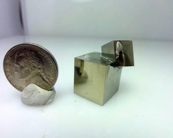 Iron Pyrite, Victoria mine, Spain  P- 11, Fools Gold, Crystal, Gem Mineral, Specimen, Healing