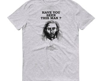 TWIN PEAKS SHIRT - Bob Wanted Poster -  Agent Cooper - Twin Peaks T Shirt - Twin Peaks Apparel - Twin Peaks Fan Art - David Lynch
