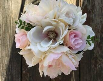 Deposit For Laquinta: Magnolia, peony and rose set