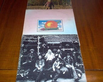 """Allman Brothers Lot Of 3 Vintage Vinyl Record Albums 12"""" LP 70's Original Classic Rock & Roll Music Collectible"""