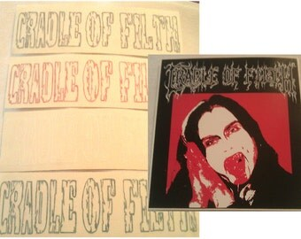 Cradle of Filth Stickers