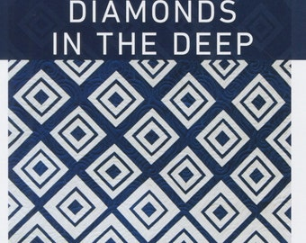 Quilt Pattern Diamonds In The Deep : Project Baskets PDF sewing pattern
