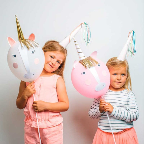 Unicorn balloon kit party activity decor