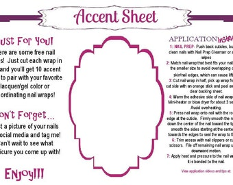 Jammin Accent Sheet Post Card