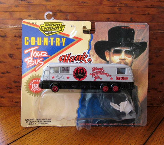 Hank Williams Jr Eagle Coach Tour Bus Toy