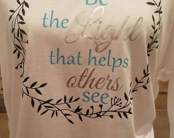 Be the Light that Helps Others See Flowy Top FREE SHIPPING!