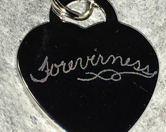 Custom Handwriting, Engrave Charm, Name Charm for Bracelt, Initial Heart Charm, Name Bracelet Charm, Name Pendant, Personalized Charm,