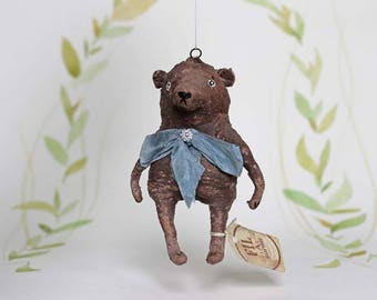 Mother s Day Special Spun cotton ornament teddy bear