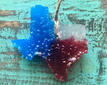 Red, White & Blue Texas (BUY 3 GET 1 FREE ) Air Freshener
