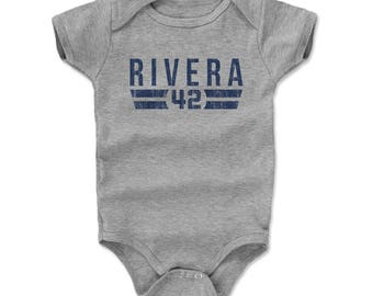 Mariano Rivera Font B New York Officially Licensed Onesie 3-24 Months