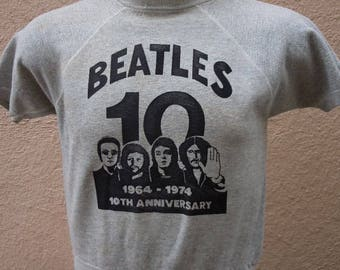 Size M (44) ** Dated 1974 Beatles Sweatshirt (Single Sided)