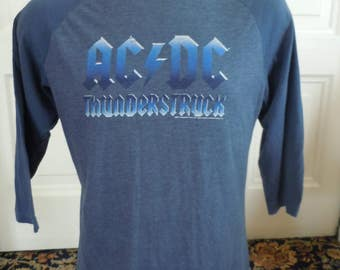 Size XL (47) -- AC/DC Shirt (Double Sided)