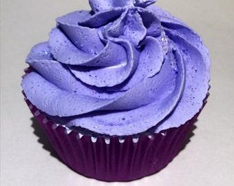 Vegan Lavender Bubble Bar Cupcake Bath Bomb