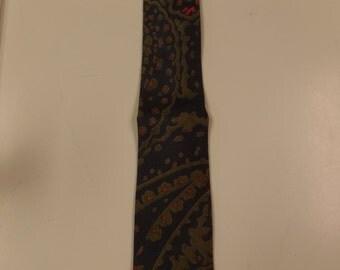 Tie Rack Vintage Silk Skinny Necktie