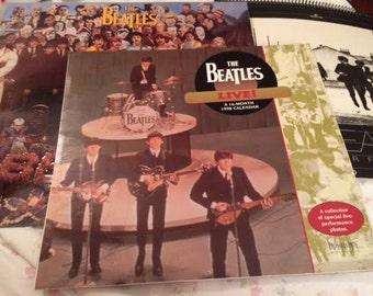 Vintage Grouping of Three Beatles Calendars 1993 1998