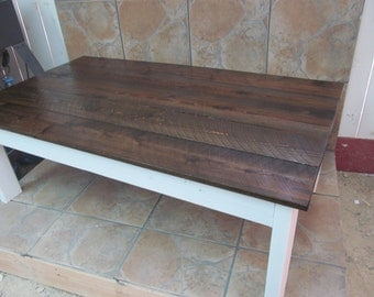 Country Style Coffee Table ~ Handmade From Real Wood