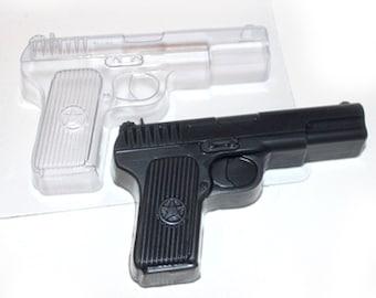 Gun mold, soap mold, revolver mold, beretta mold, bullet mold, pistol mold, handgun mold, plastic mold, plaster mold, chocolate mold