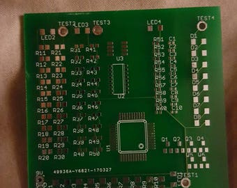 SMD Soldering practice board