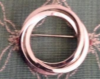 1960's Circular Brooch