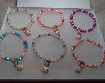 Children's Easter Bunny Bracelets